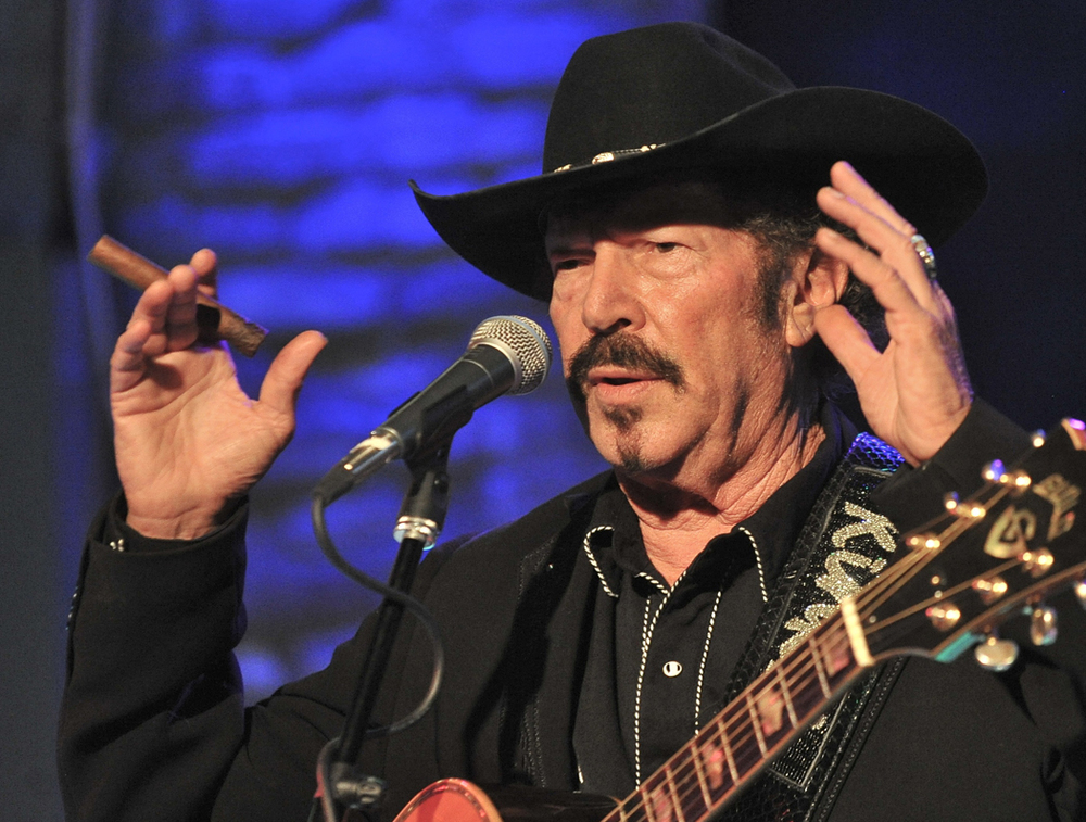 Click photo to download. Caption: Kinky Friedman. Credit: Brian Kanof.
