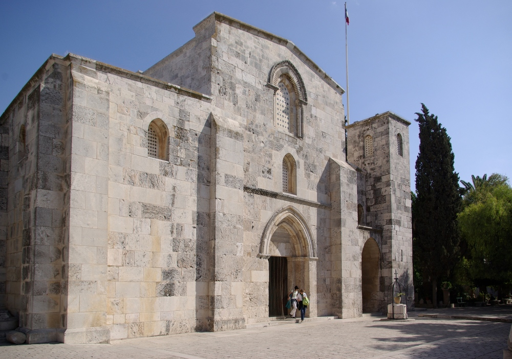 Saint Anne's Church in Jerusalem. Credit: Berthold Werner via Wikimedia Commons.