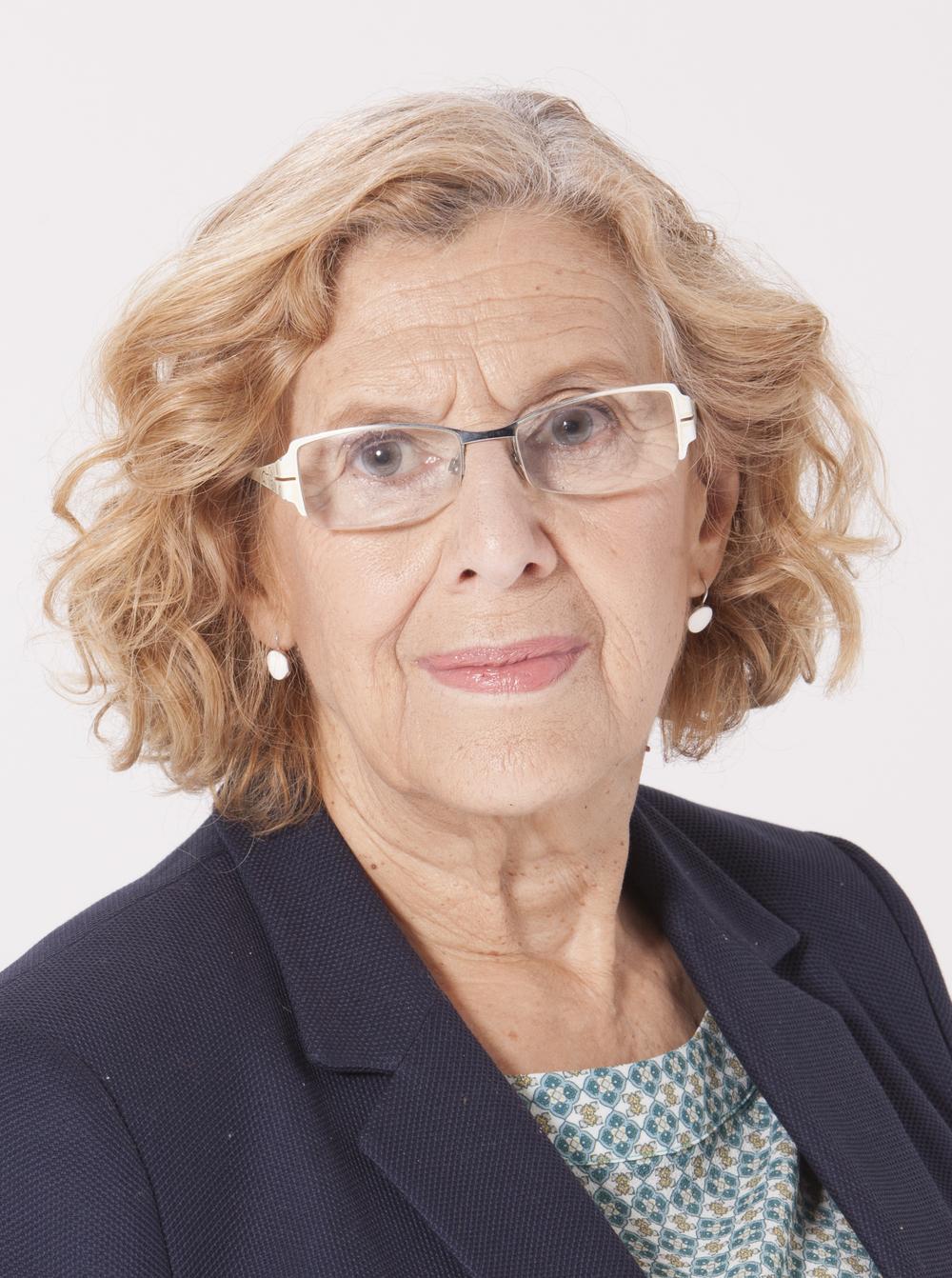 Madrid Mayor Manuela Carmena. Credit: Ahora Madrid, David Arenal via Wikimedia Commons.