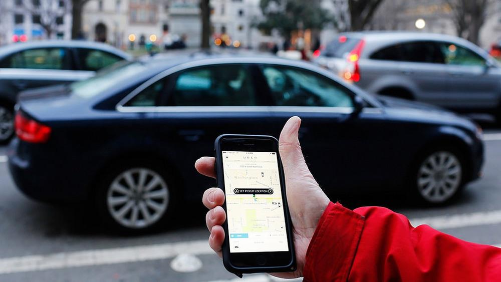 The Uber ride service app. Credit: Mark Warner via Flickr.com.