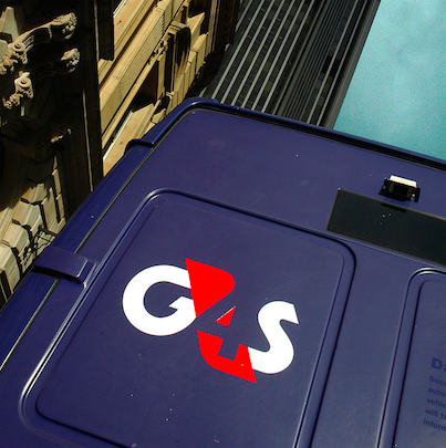 A G4S van in London. Credit: Wikimedia Commons.