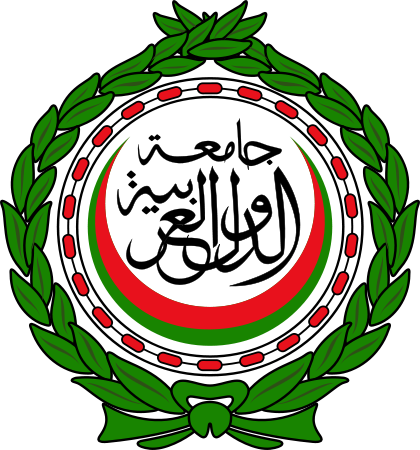 The emblem of the Arab League. Credit: Wikimedia Commons.