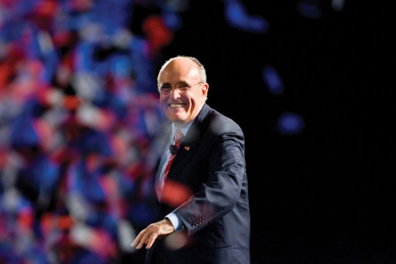 Former New York City mayor Rudy Giuliani (pictured) praised Republican presidential candidate Donald Trump while on a visit to Israel. Credit: Wikimedia Commons.