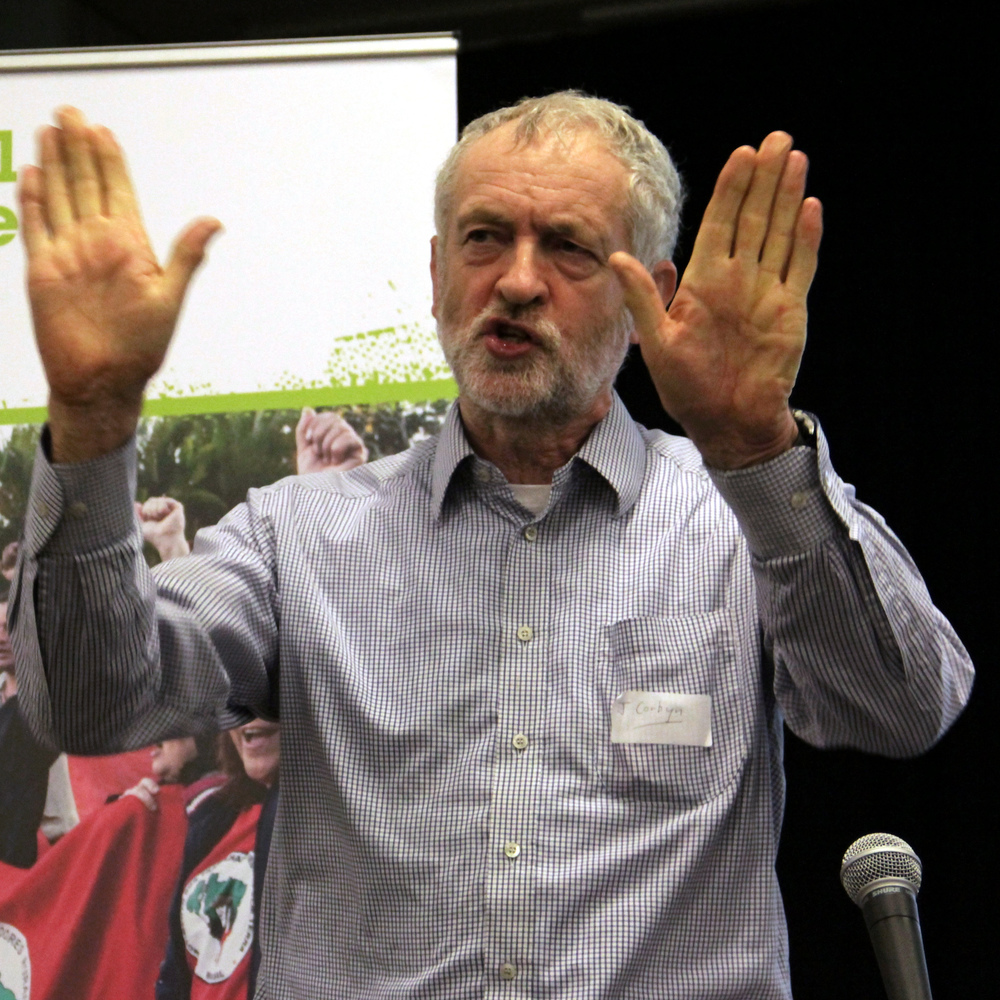 UK Labour leader Jeremy Corbyn. Credit: Wikimedia Commons.