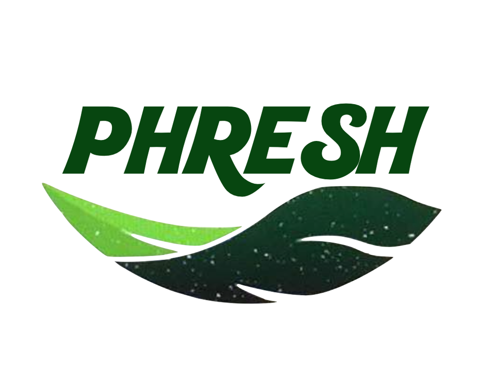 The logo of Phresh Organics. Credit: Facebook.