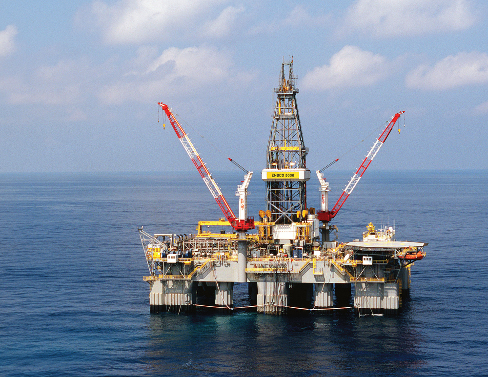 Gas drilling off the coast of Israel. Credit: www.drillingcontractor.org via Flickr.com.