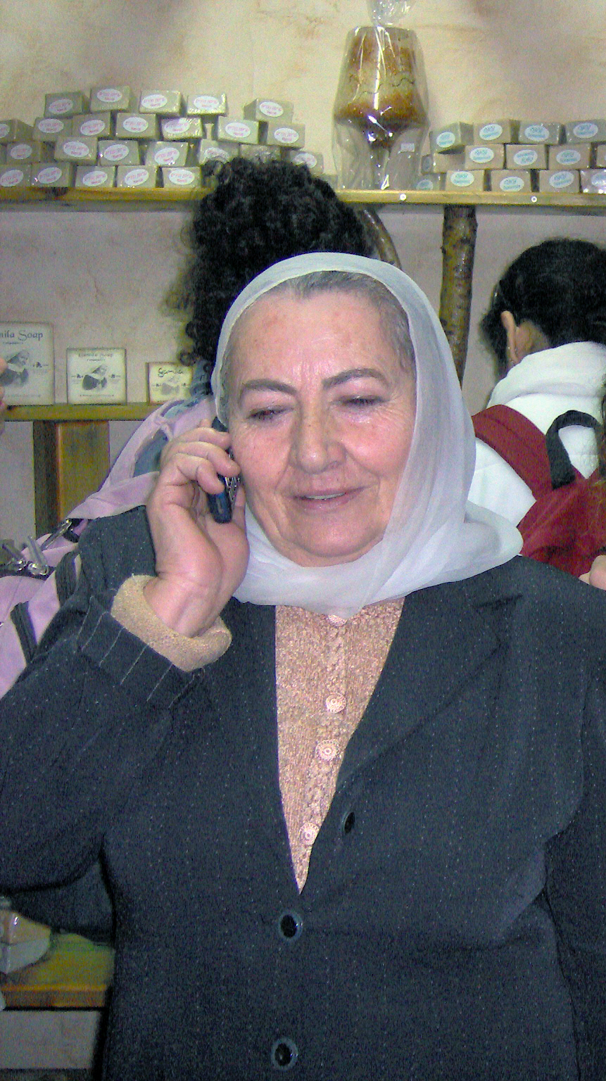 "Jamila Hir, known as ""Grandma Jamila."" Credit: Noa Cafri via Wikimedia Commons."