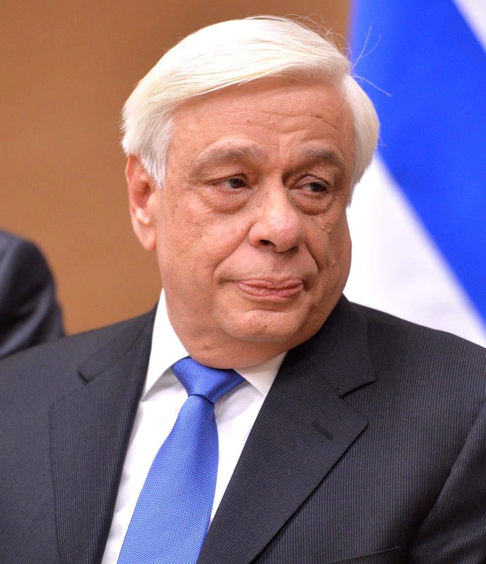 Greek President Prokopis Pavlopoulos. Credit: Kremlin.ru via Wikimedia Commons.