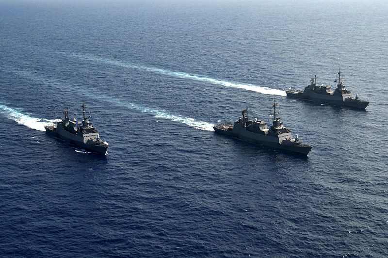 Israeli Navy ships. Credit: Israel Defense Forces.