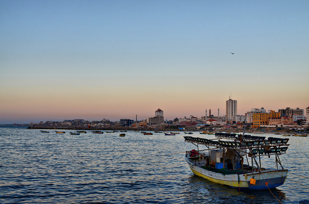 The Gaza port. Credit: Wikimedia Commons.