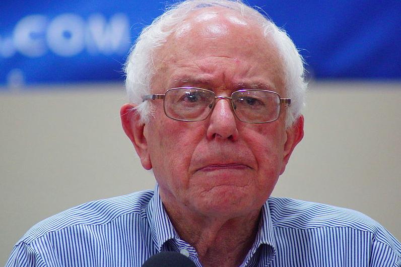 Bernie Sanders. Credit: Wikimedia Commons.