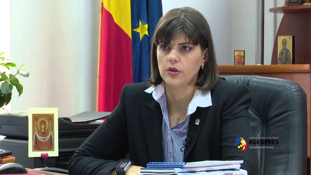 Romania's chief anti-corruption prosecutor, Laura Codruta Kovesi. Credit: YouTube screenshot.