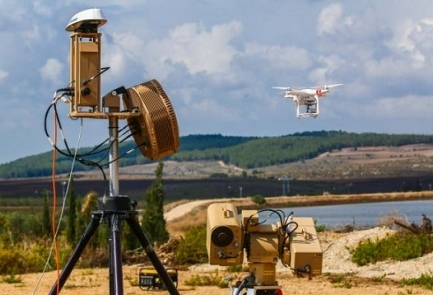The new Israeli-developed Drone Dome defense system. Credit: Rafael Advanced Defense Systems.