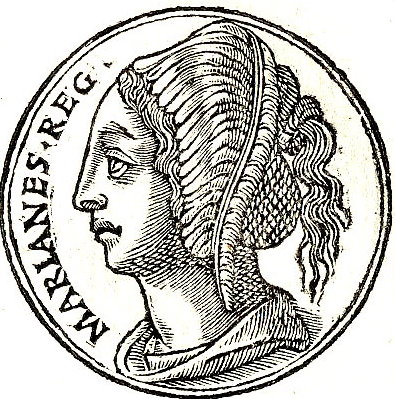Mariamne I, King Herod's second wife. Credit: Wikimedia Commons.