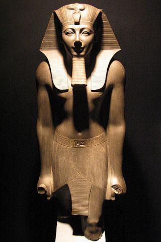 A statue of Thutmose III of Egypt's 18th Dynasty. Credit: Wikimedia Commons.