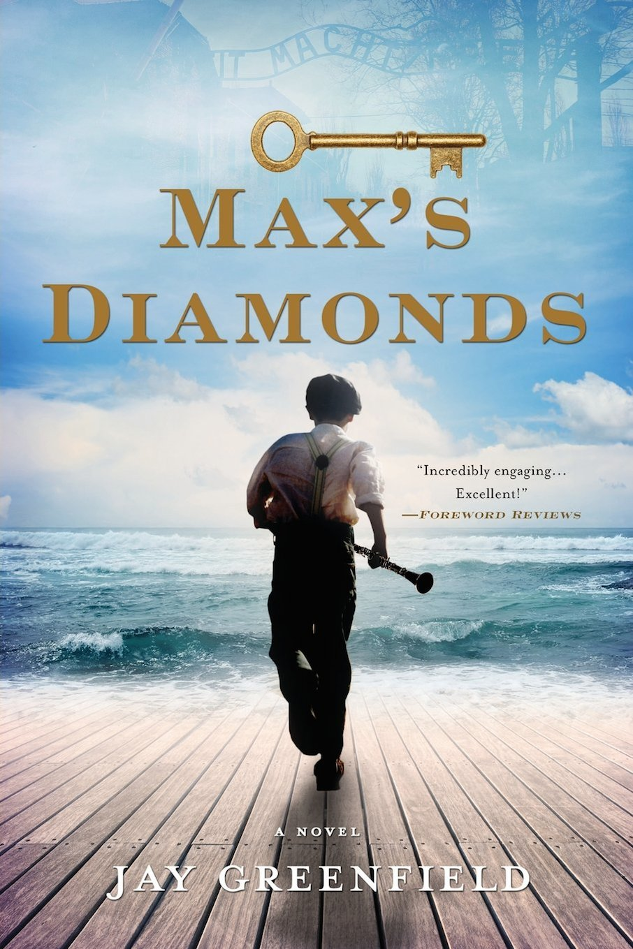 "Click photo to download. Caption: The cover of ""Max's Diamonds."" Credit: Chickadee Prince Books."