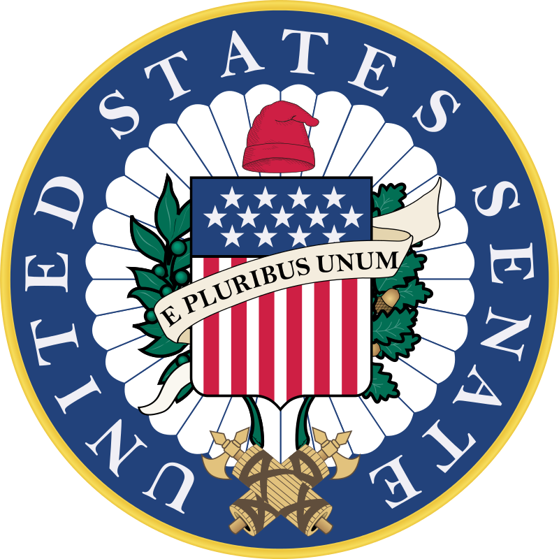 The seal of the U.S. Senate. Credit: Wikimedia Commons.