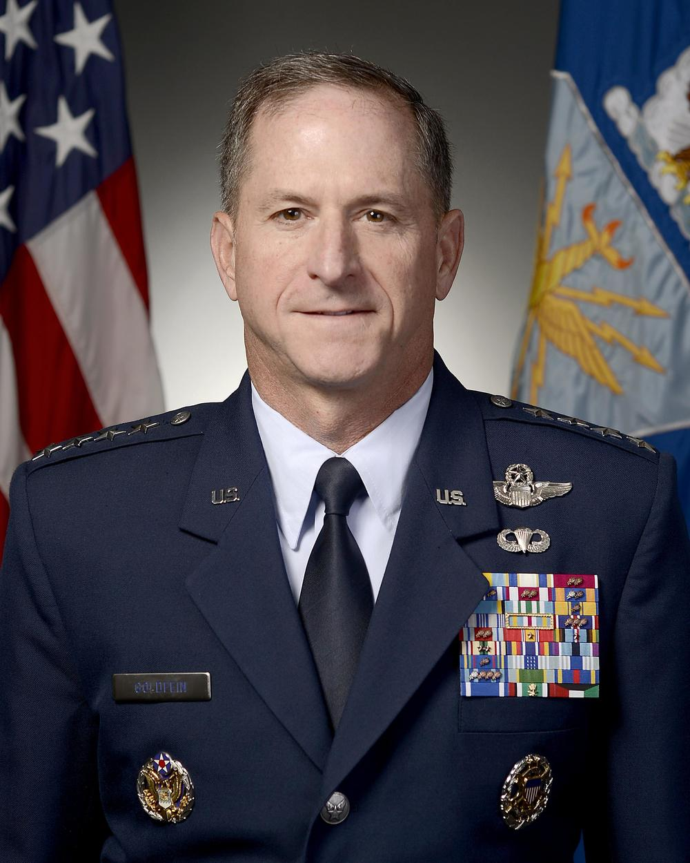 Vice Chief of Staff of the U.S. Air Force Gen. David L. Goldfein. Credit: USAF via Wikimedia Commons.