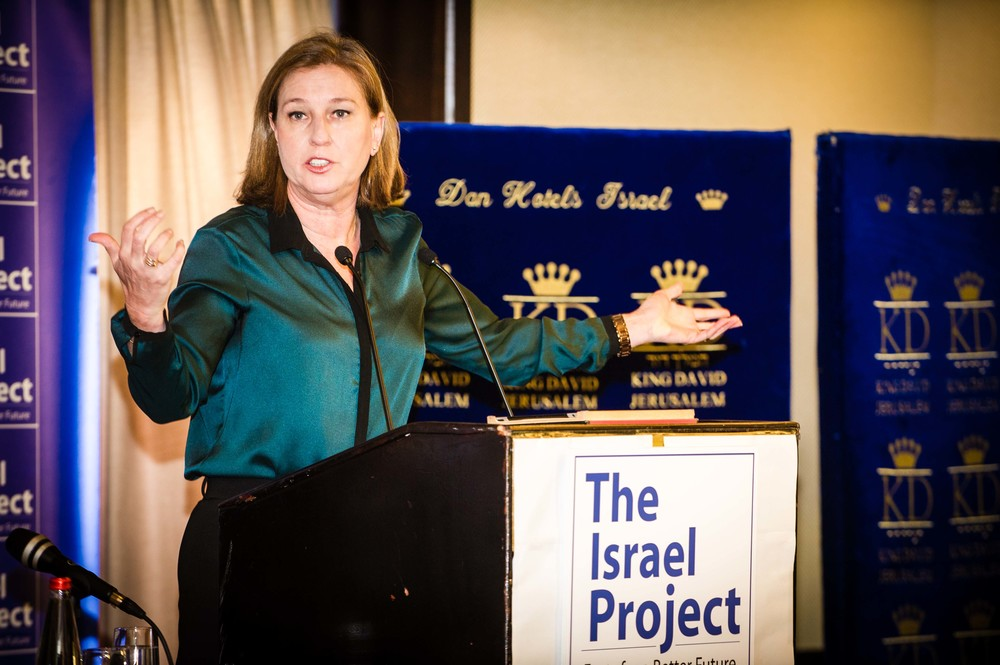 Click photo to download. Caption: Tzipi Livni. Credit: The Israel Project via Wikimedia Commons.