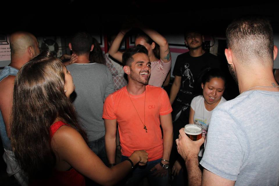 Click photo to download. Caption: The dance floor at Video Pub, Jerusalem's only gay bar. Credit: Courtesy Video Pub.