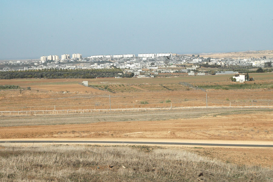 The Israel-Gaza border. Credit: Wikimedia Commons.