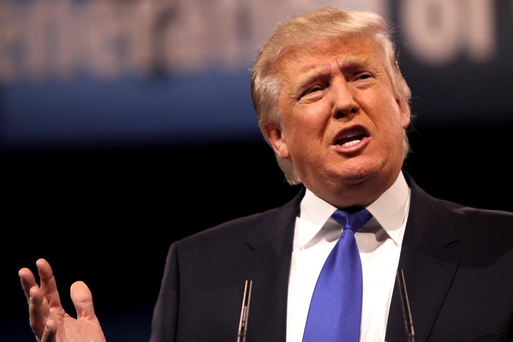 Donald Trump. Credit: Wikimedia Commons.