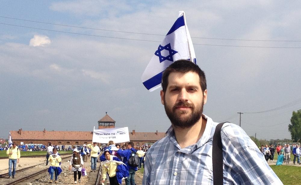 Jacob Kamaras at Birkenau