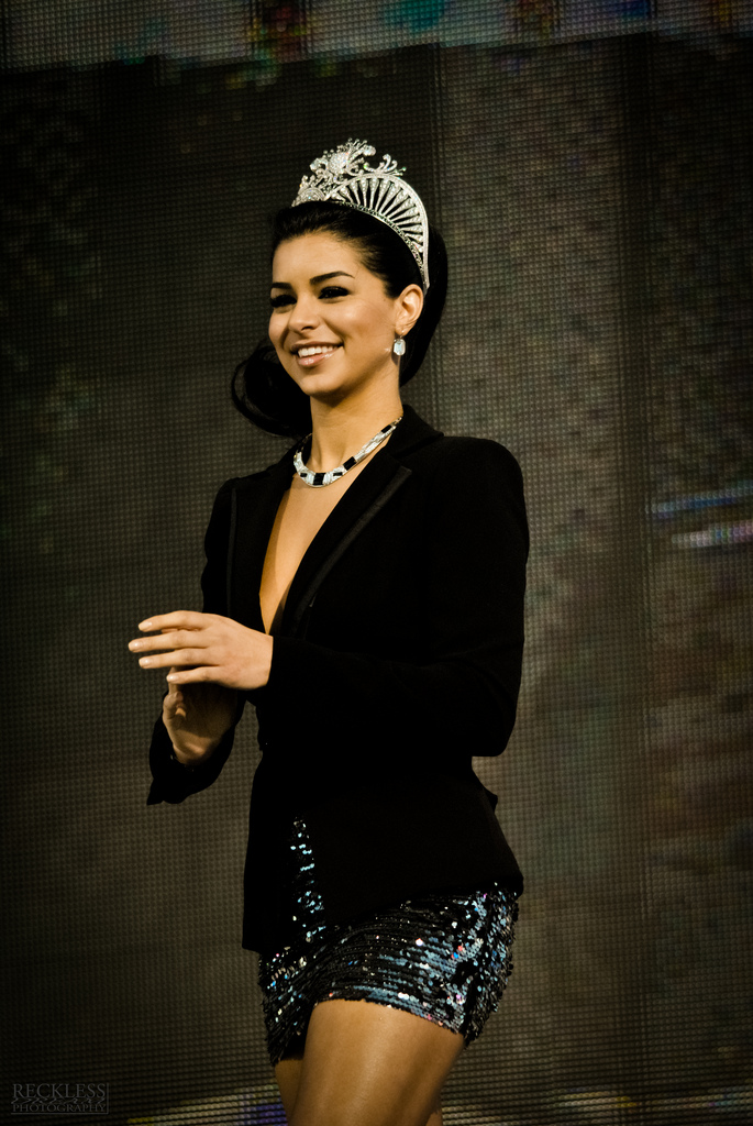 Former Miss USA winner Rima Fakih. Credit: Wikimedia Commons.