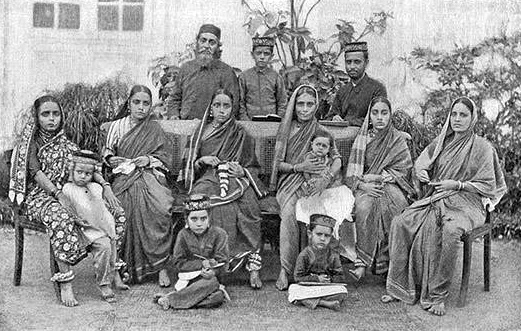 The Bene Israel community in India. Credit: Wikimedia Commons.