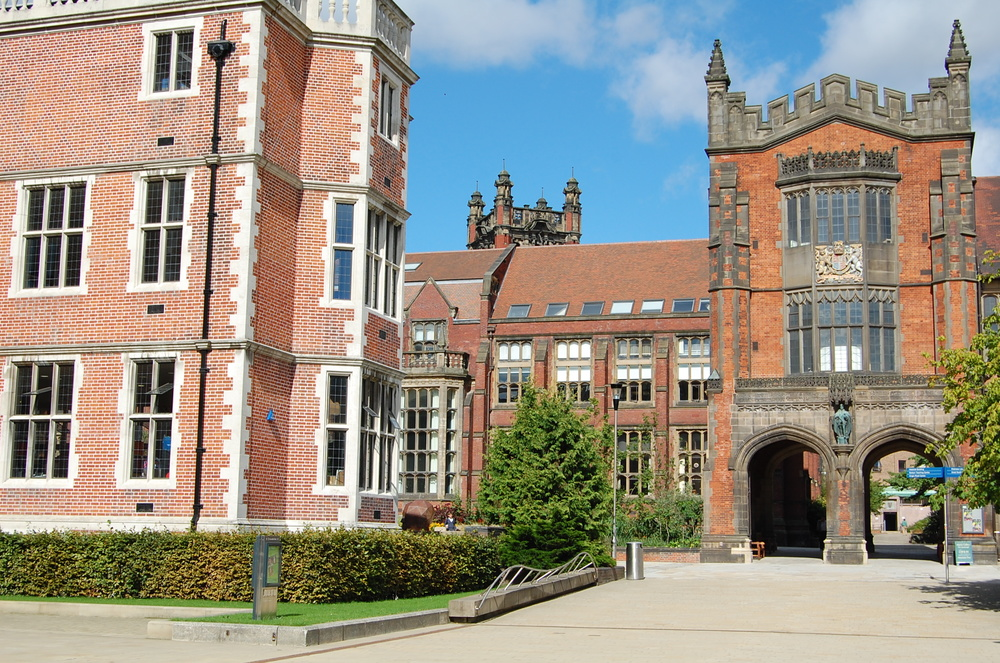 The campus of Newcastle University. Credit: Sarah Cossom via Wikimedia Commons.