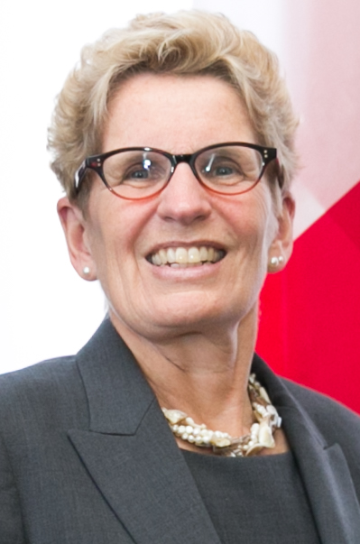 Ontario Premier Kathleen Wynne.Credit:Department of Foreign Affairs and Trade via Wikimedia Commons.