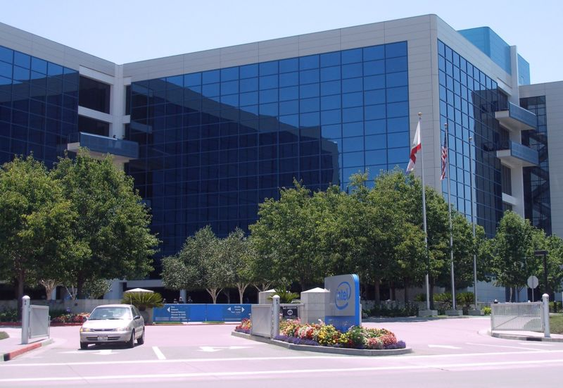 Intel headquarters in Santa Clara, Calif. Credit: Wikimedia Commons.