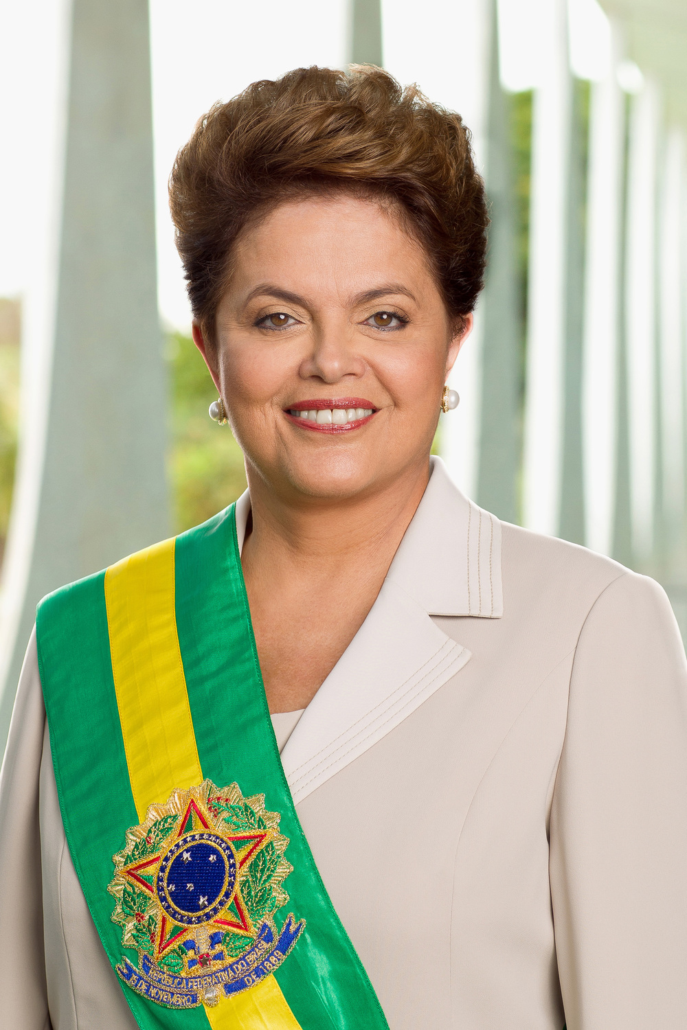 Suspended Brazilian President Dilma Rousseff. Credit: Agência Brasil via Wikimedia Commons.