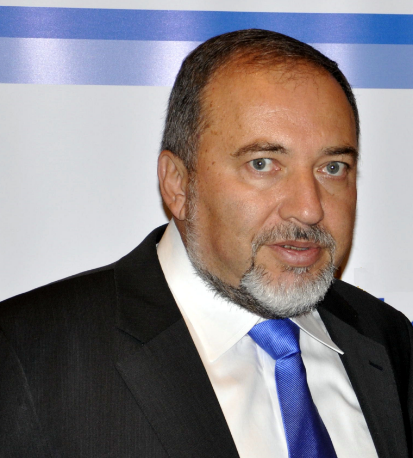 Yisrael Beiteinu party leader Avigdor Lieberman. Credit: Michael Thaidigsmann via Wikimedia Commons.