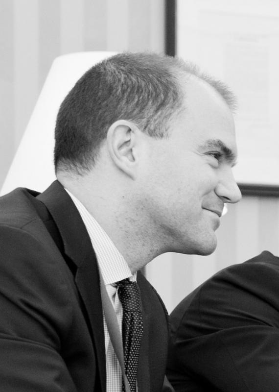 Click photo to download. Caption: Obama administration official Ben Rhodes. Credit: White House photo.