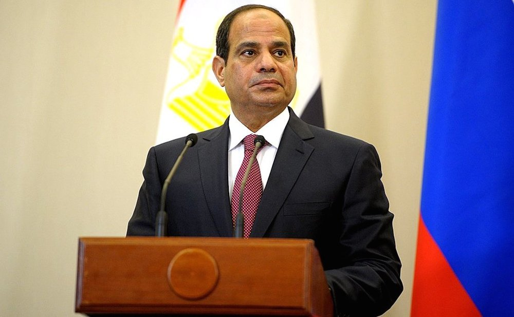 Click photo to download. Caption: Egyptian President Abdel Fattah El-Sisi. Credit: Kremlin.ru via Wikimedia Commons.