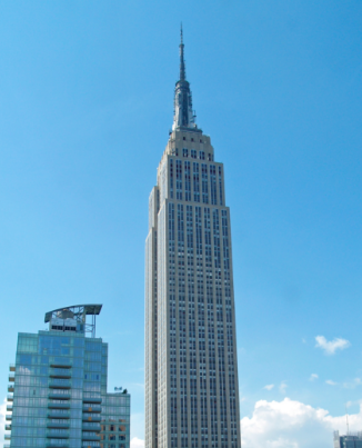 The Empire State Building. Credit: David Shankbone via Wikimedia Commons.