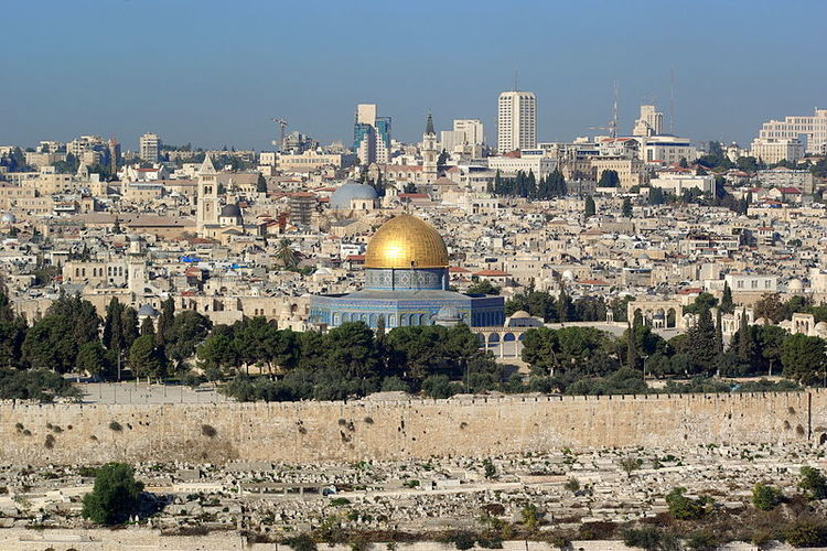 A view of Jerusalem. Credit: Berthold Werner via Wikimedia Commons.