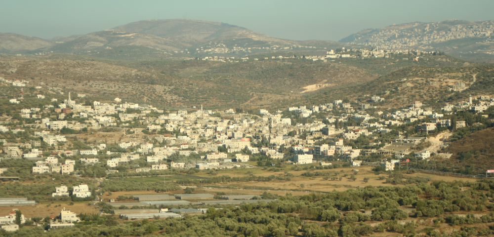 The Palestinian town of Anabta. Credit: Wikimedia Commons.