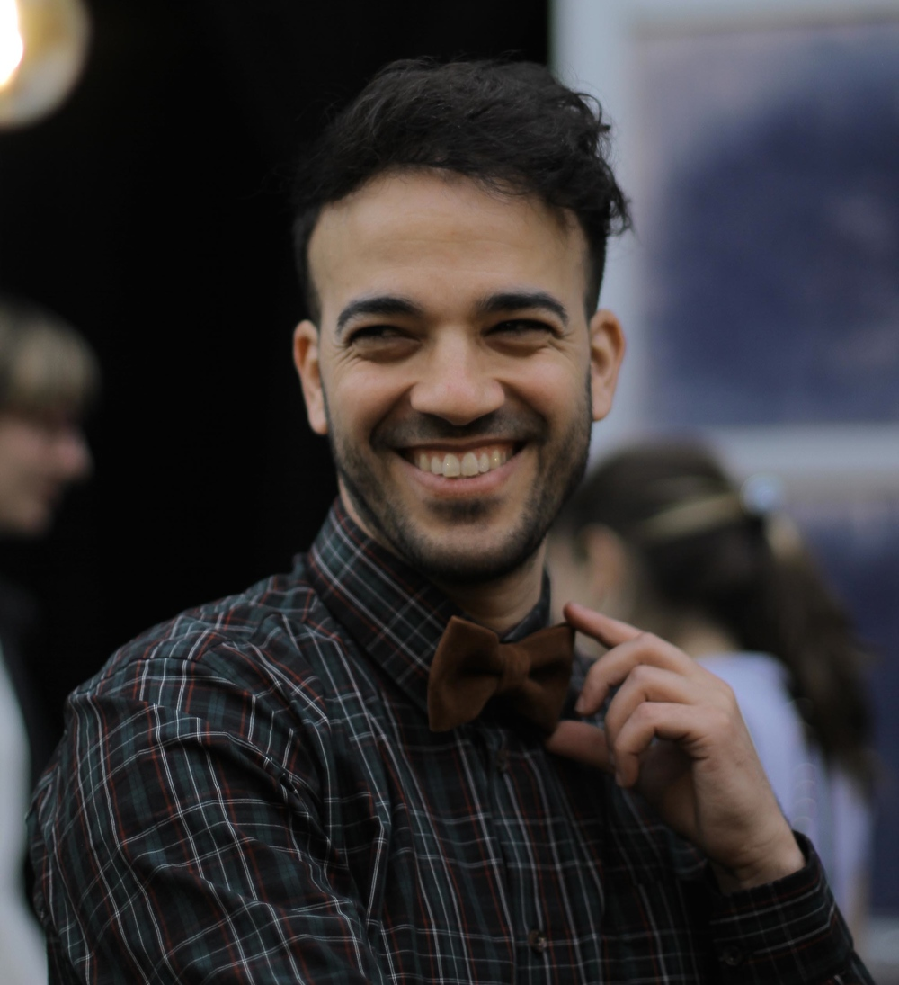Click photo to download. Caption: Berlin Music Video Awards founder Aviel Silook. Credit: Johanna Rafalski.