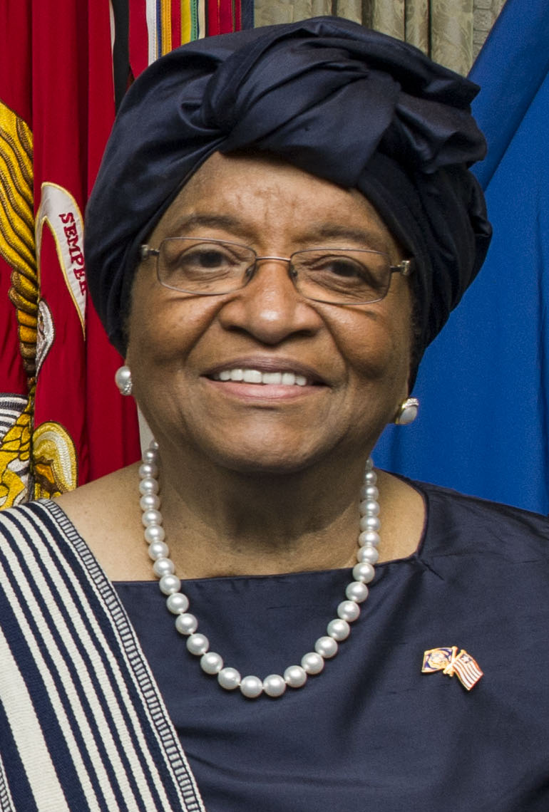 Liberian President Ellen Johnson Sirleaf. Credit: Ash Carter via Wikimedia Commons.
