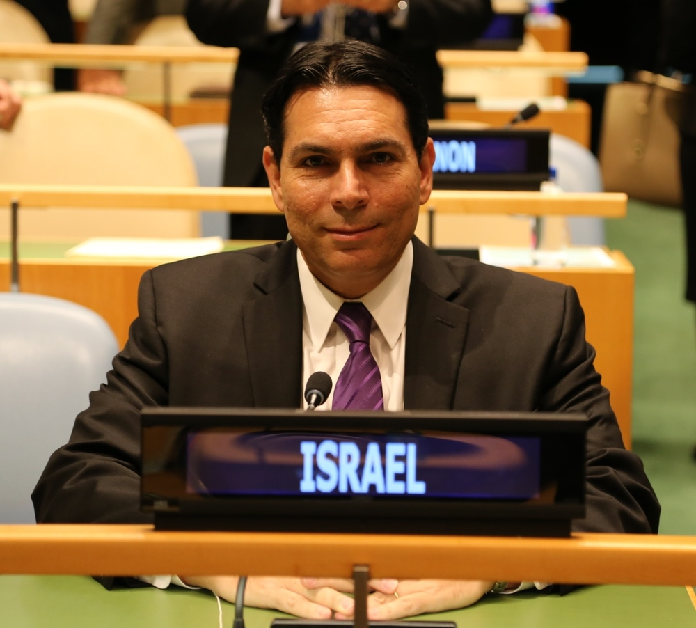 Israeli Ambassador to the United Nations Danny Danon. Credit: Permanent Mission of Israel to the United Nations.