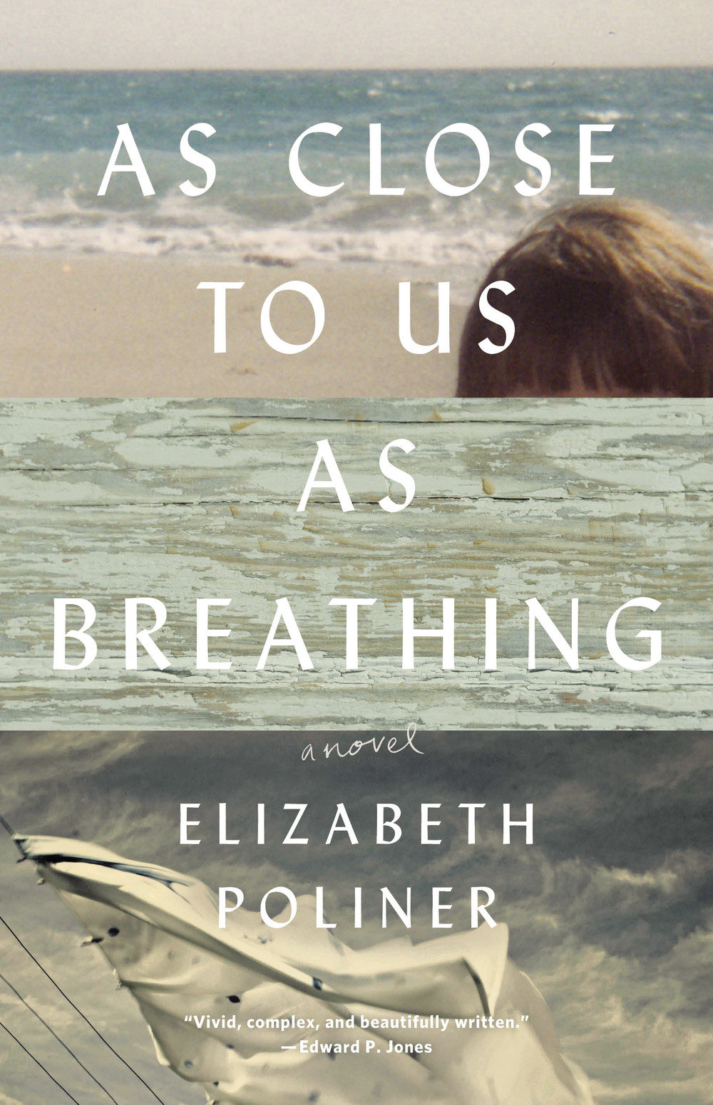 "Click photo to download. Caption: The cover of Elizabeth Poliner's  ""As Close to Us as Breathing."" Credit: Lee Boudreaux Books."