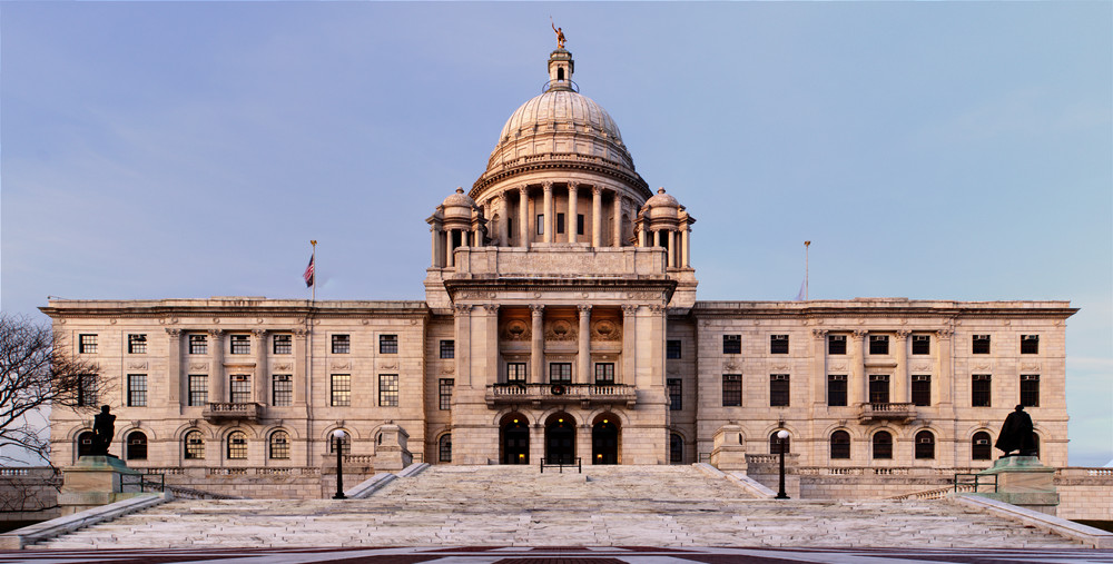 The Rhode Island State House. Credit: Kumar Appaiah via Wikimedia Commons.