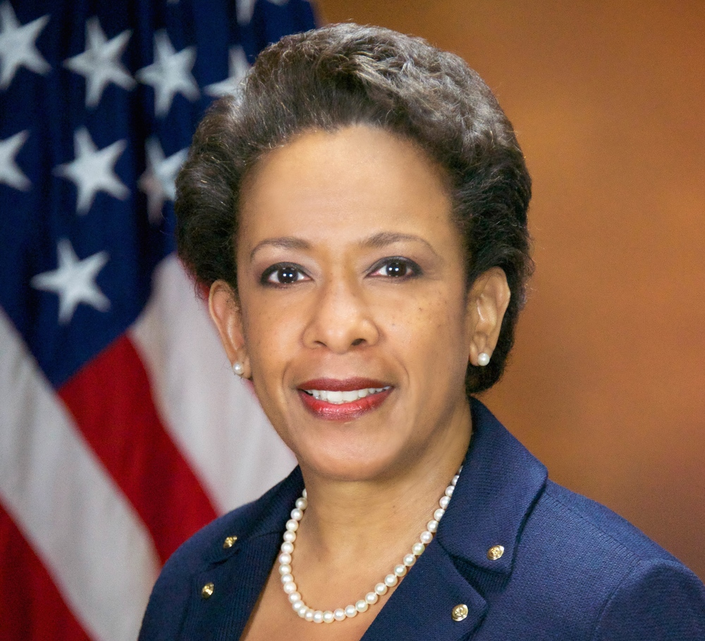 Click photo to download. Caption: U.S. Attorney General Loretta Lynch. Credit: U.S. Department of Justice.