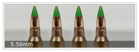 Small caliber ammunition from Israel Military Industries. Credit: Israel Military Industries.
