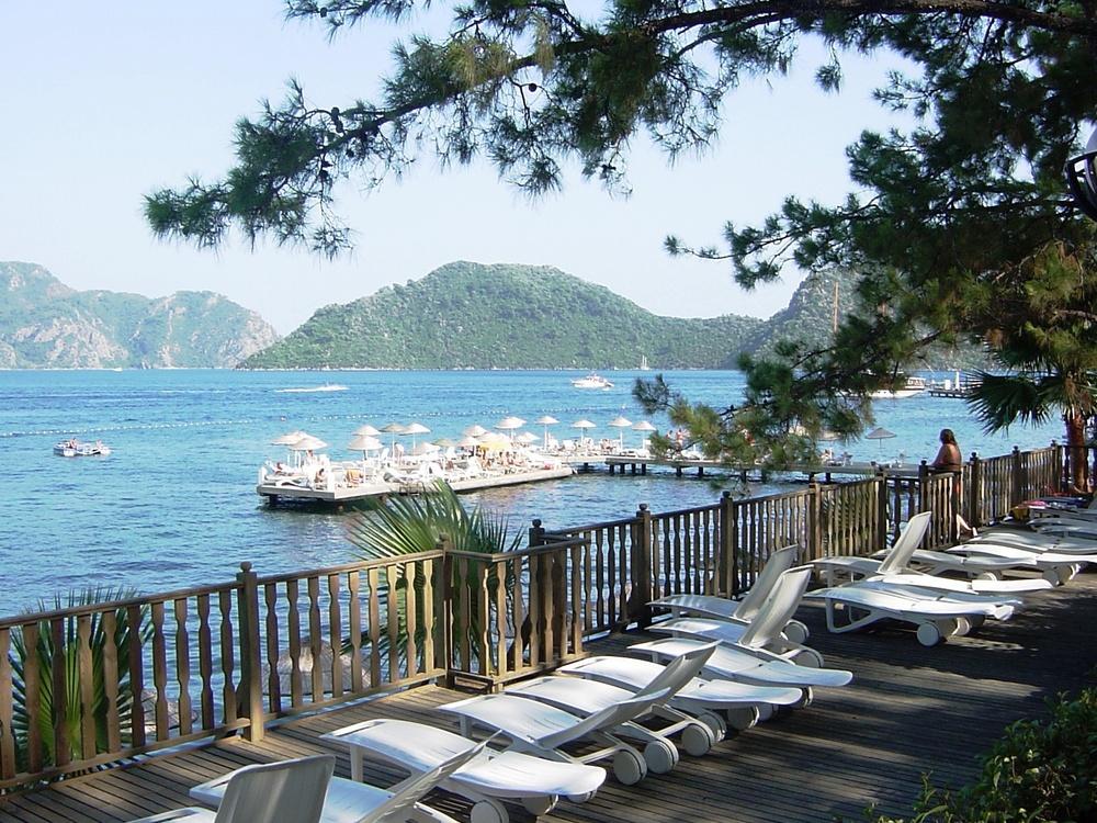 Marmaris, a resort area in Turkey. Credit: Wikimedia Commons.
