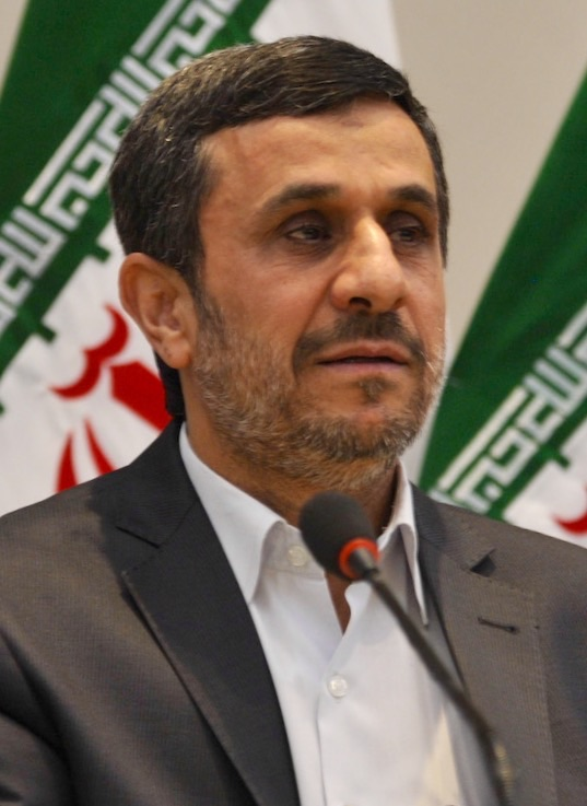 Mahmoud Ahmadinejad. Credit: Agencia Brasil via Wikimedia Commons.