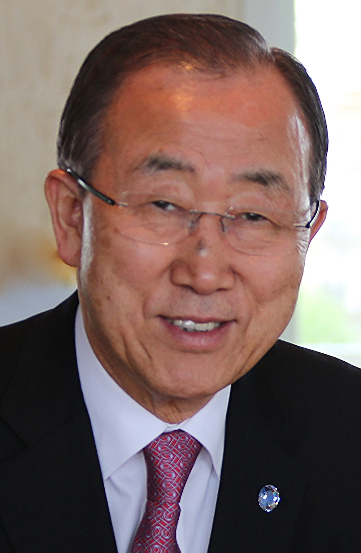 United Nations Secretary-General Ban Ki-moon. Credit: Wikimedia Commons.