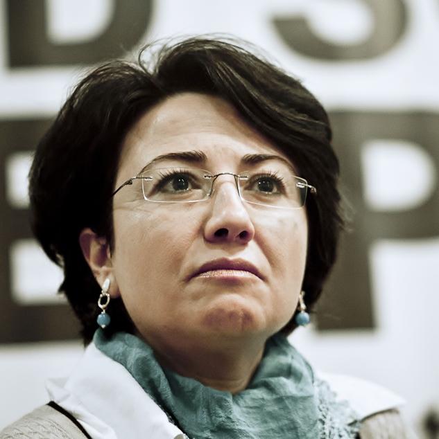 Member of Knesset Haneen Zoabi. Credit: Wikimedia Commons.